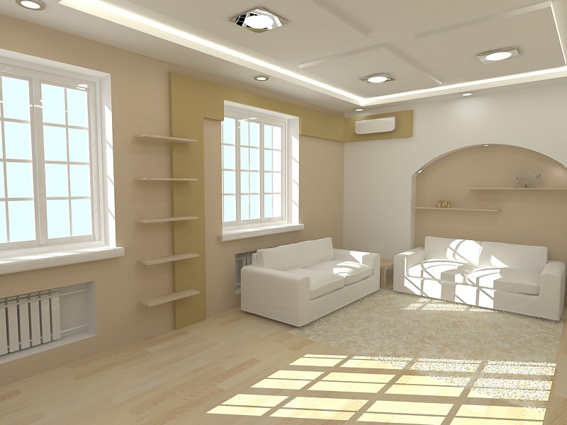 A house in Shahty in 3d max vray image