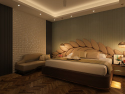 Contemporary Premium Luxury master bedroom