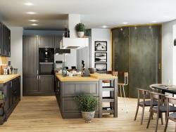 Küche für Standort und Katalog