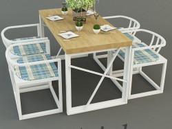 Table with chairs SPETCIAL TASARIM