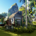 Huts or palaces. Long tai in 3d max Other image