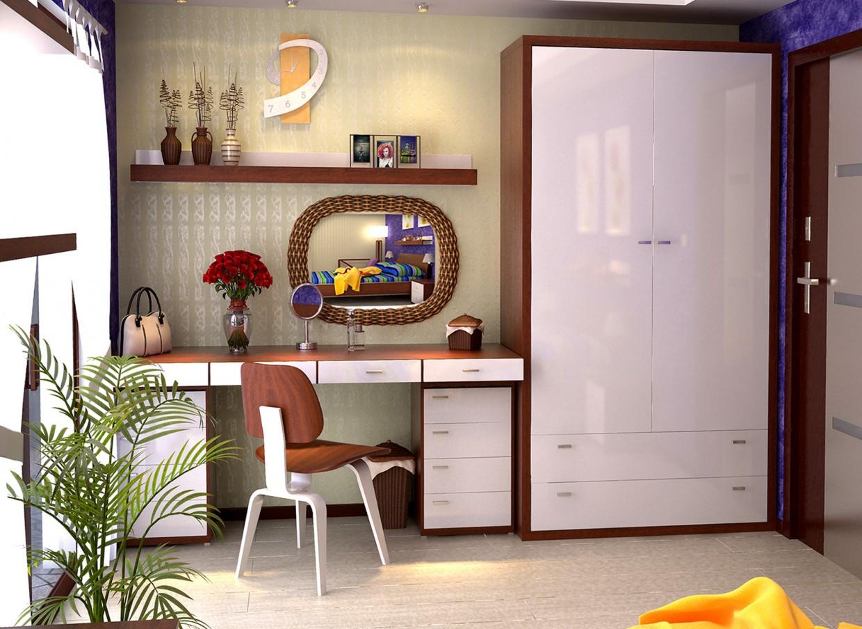 imagen de Dormitorio luminoso en 3d max vray