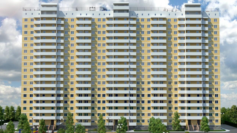 imagen de Complejo residencial en 3d max vray