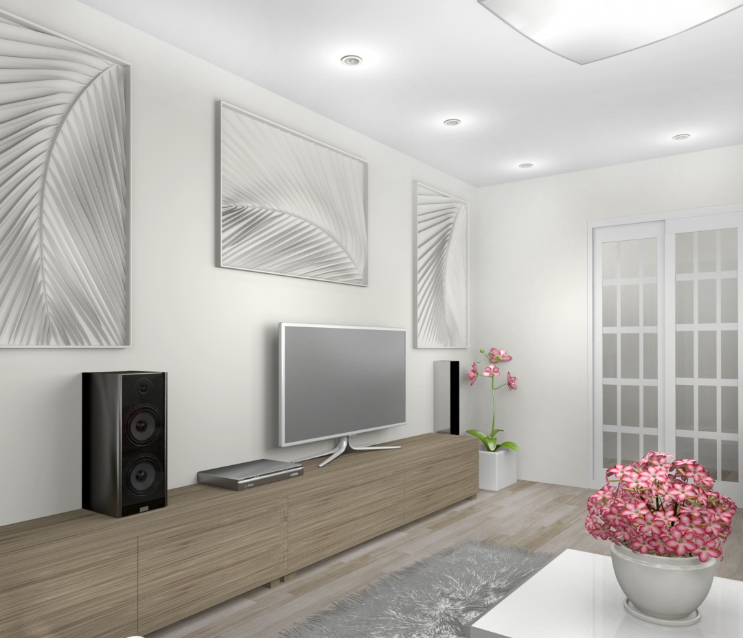 3d visualization of the project in the Living room Other thing, render Other of Helena Che