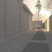 3D layout of the mansion in 3d max corona render image