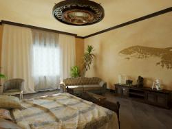 Schlafzimmer. Kolonialstil