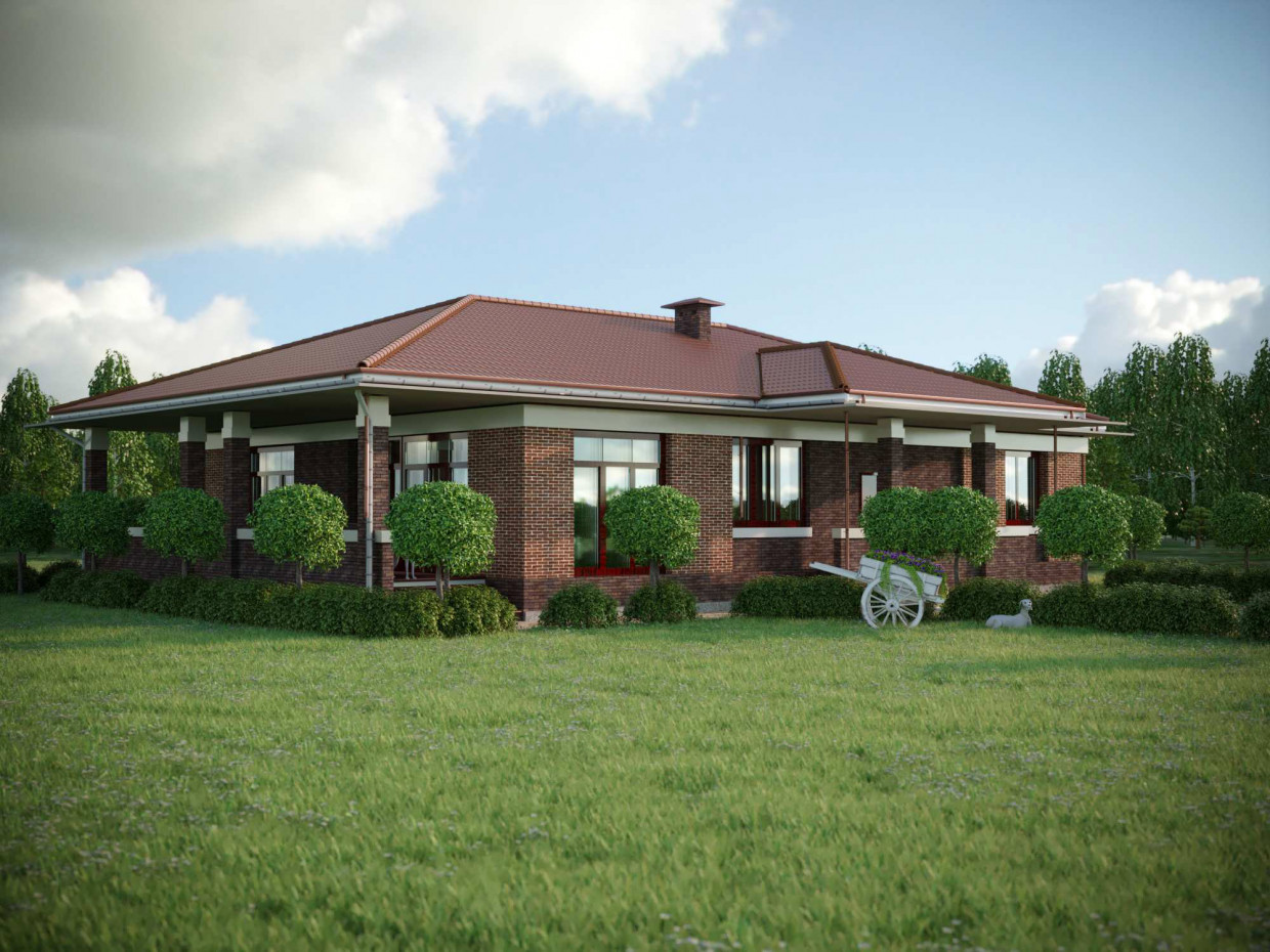 3d visualization of the project in the Victorian house. ArchiCAD, render corona render of Alexandr Podvoisky