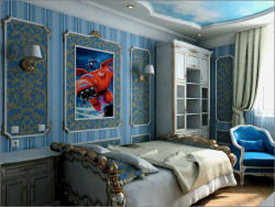 Interior design of a children's room in Chernigov