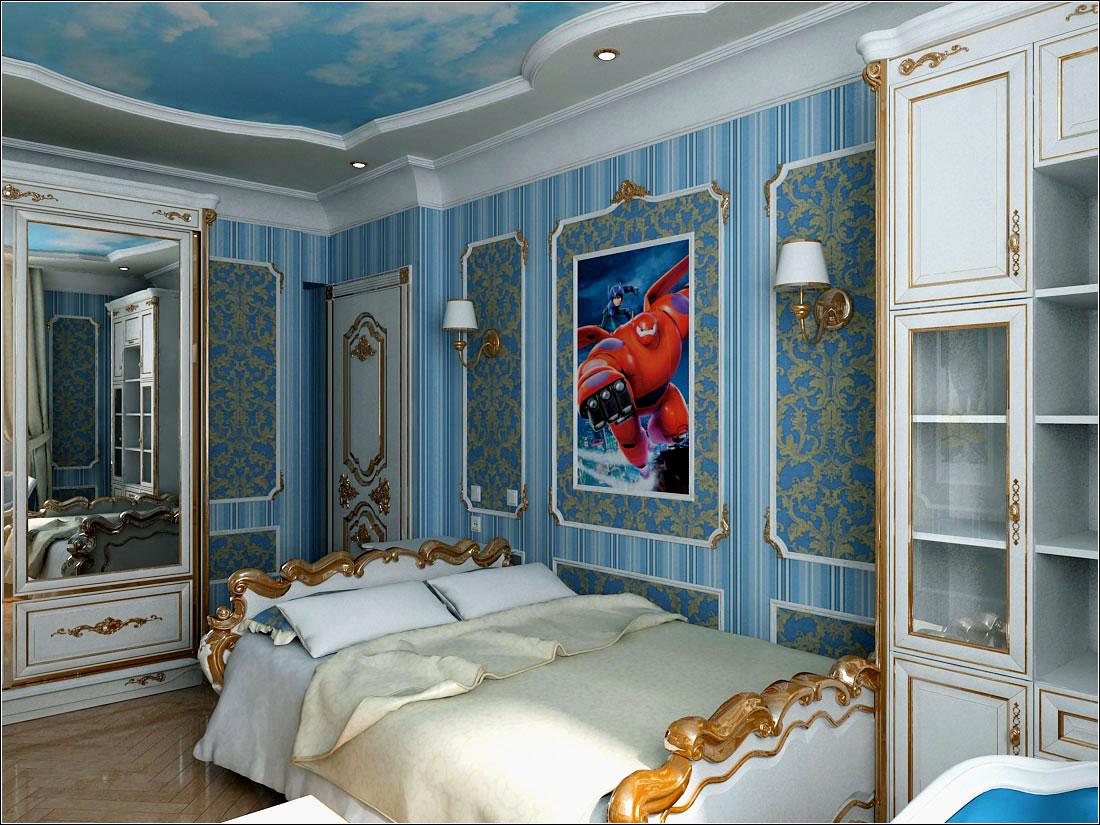 Interior design of a children's room in Chernigov in 3d max vray 1.5 image