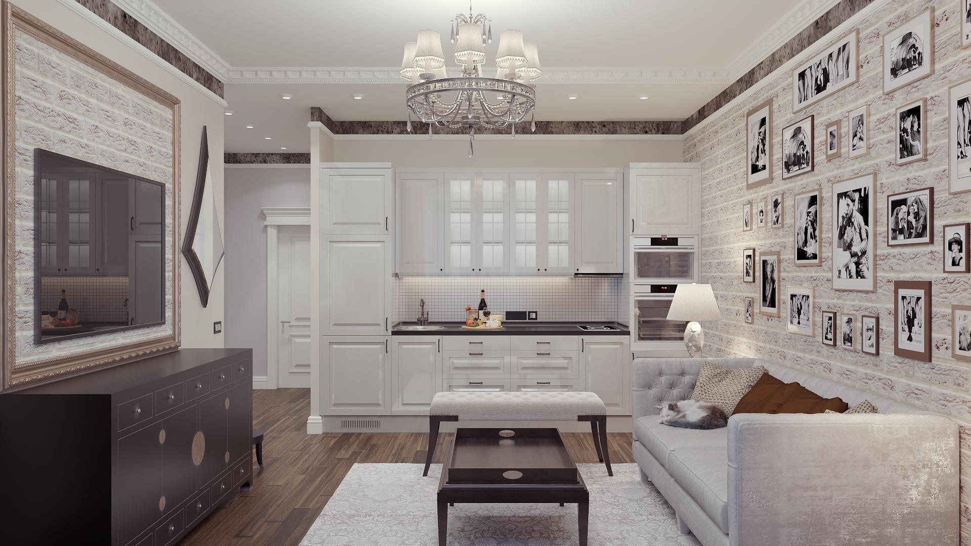 Kitchen.. in 3d max corona render image