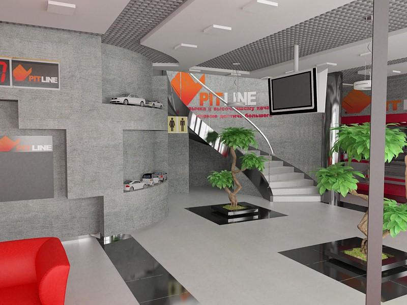 imagen de Compre en una estación de servicio 2 en 3d max vray