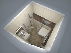 Salle de bain avec tuiles Paradyz
