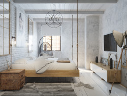 In Bedroom loft