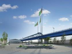 Мост в Туркмении