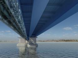 Ponte in Turkmenistan (tra Atamurat e Kerkeci)
