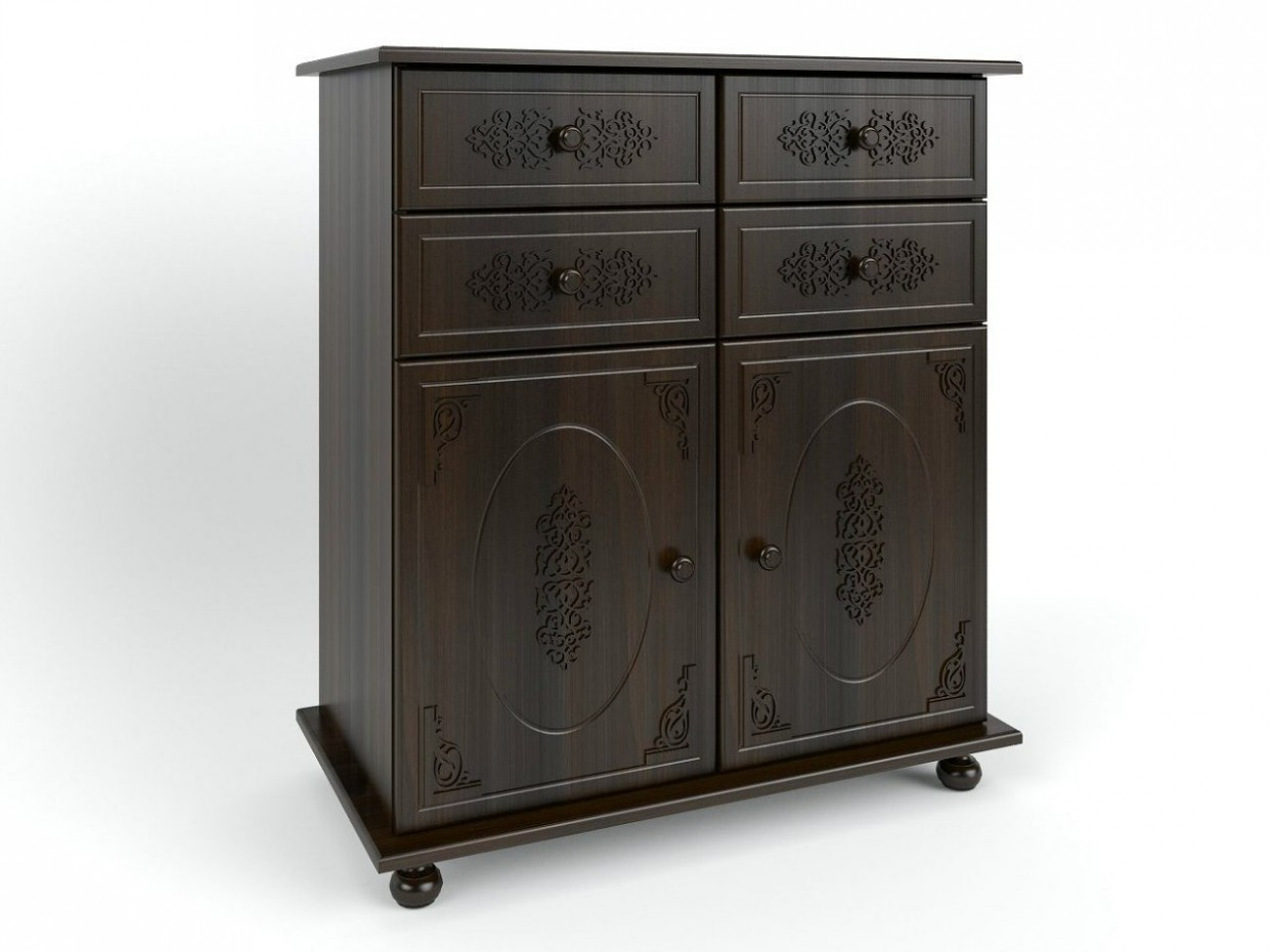Chest of drawers in 3d max vray image