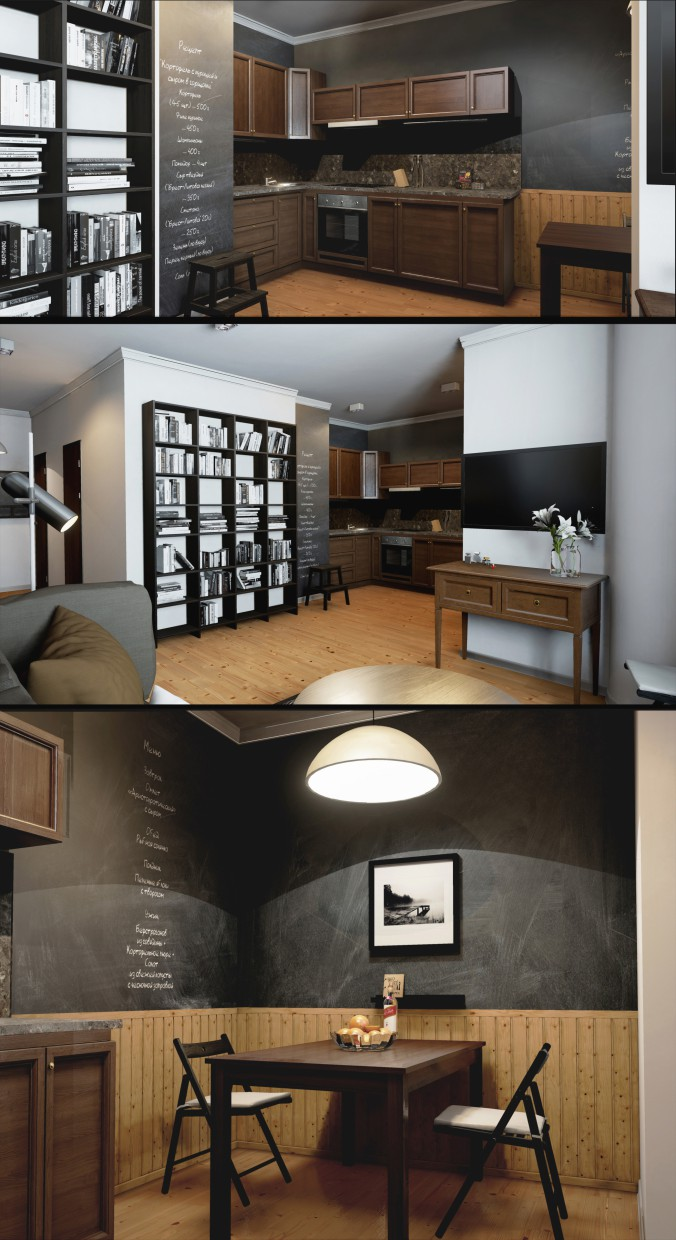 The interior in the Unreal engine 4 in 3d max Other image