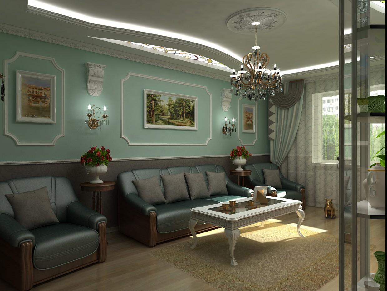 imagen de Habitación de huéspedes en 3d max vray