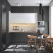 Kitchen in Cinema 4d corona render image
