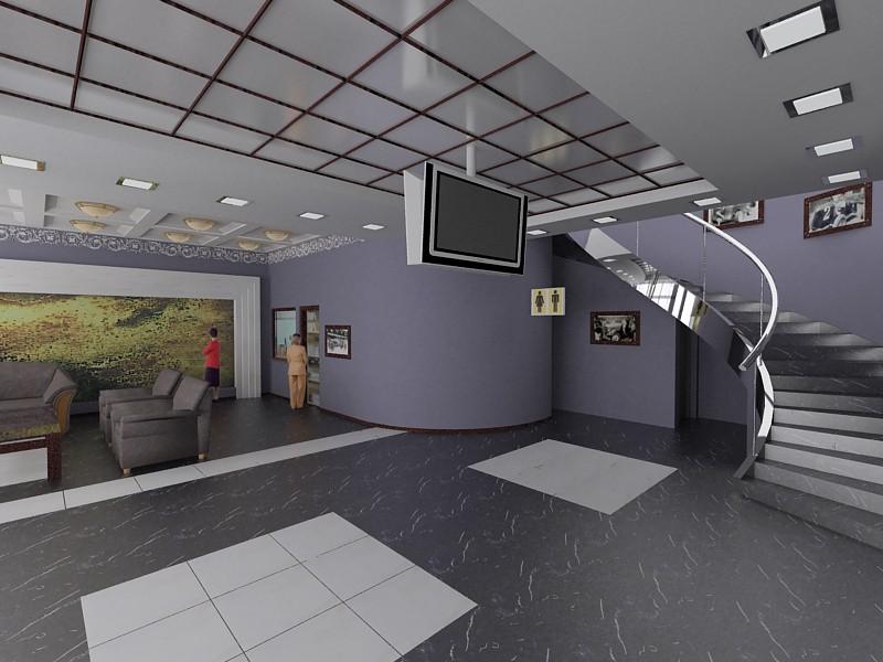 imagen de Compre en una estación de servicio 3 en 3d max vray