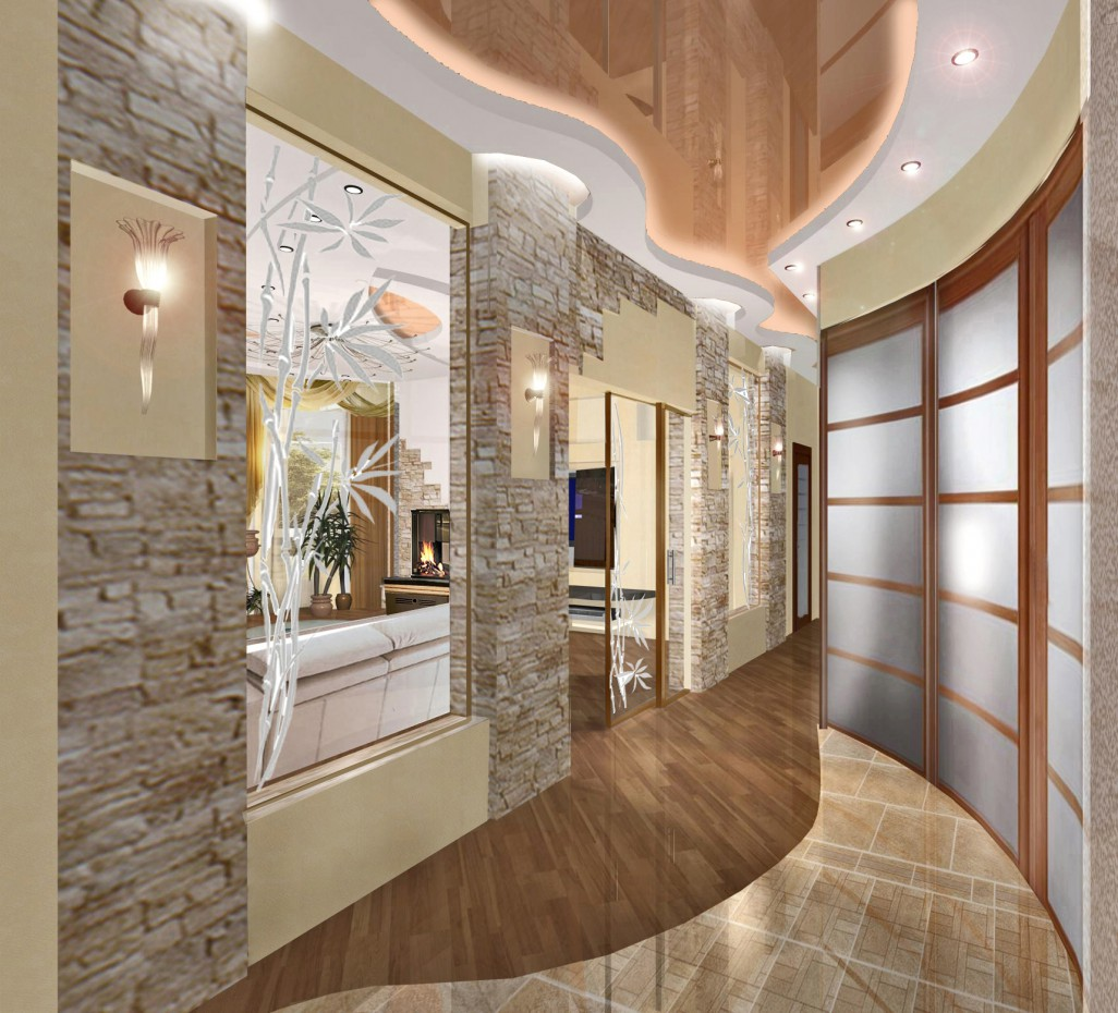 3d visualization of the project in the Passage 3d max, render vray of Светлана knysh