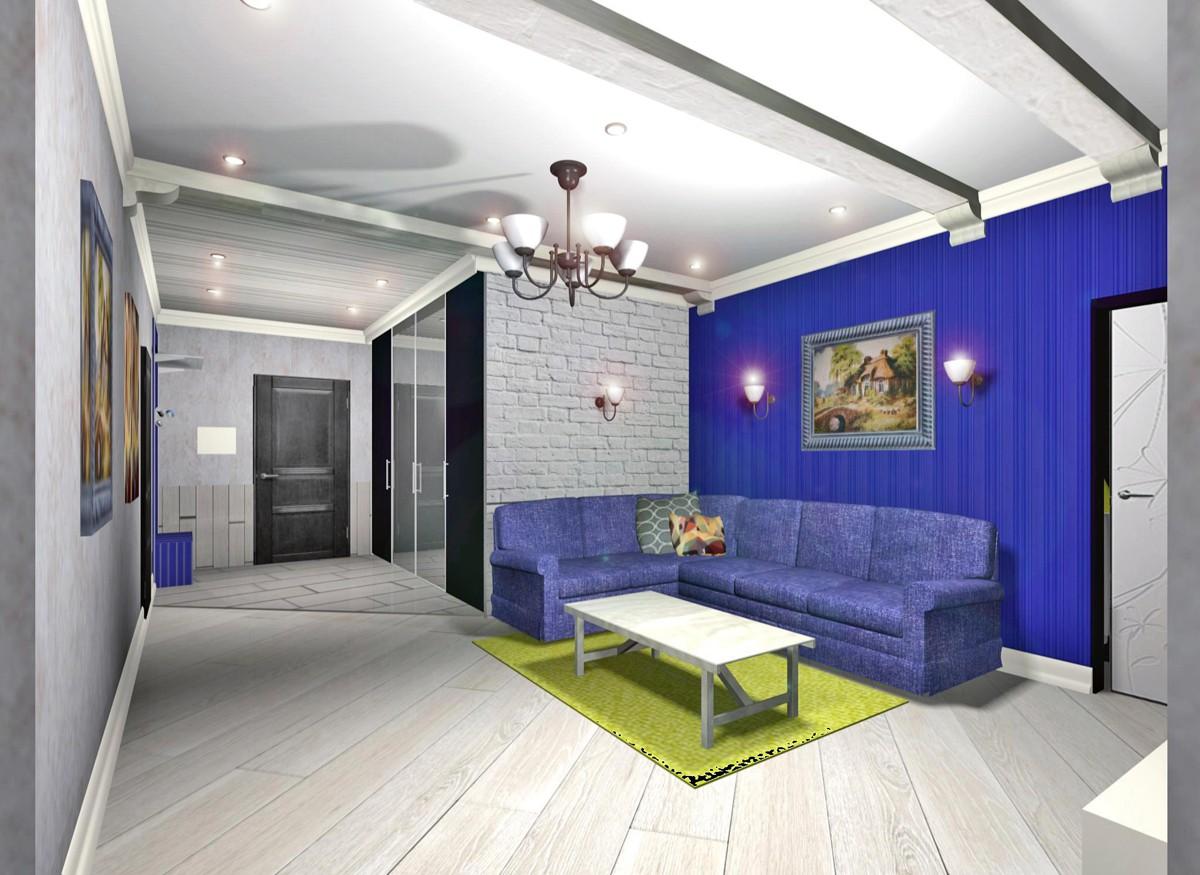 3d визуализация проекта квартира в 3d max, рендер vray от Светлана knysh