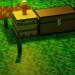 Minecraft Chest in Blender blender render image