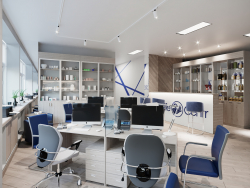 Modern Office 3D Archvis