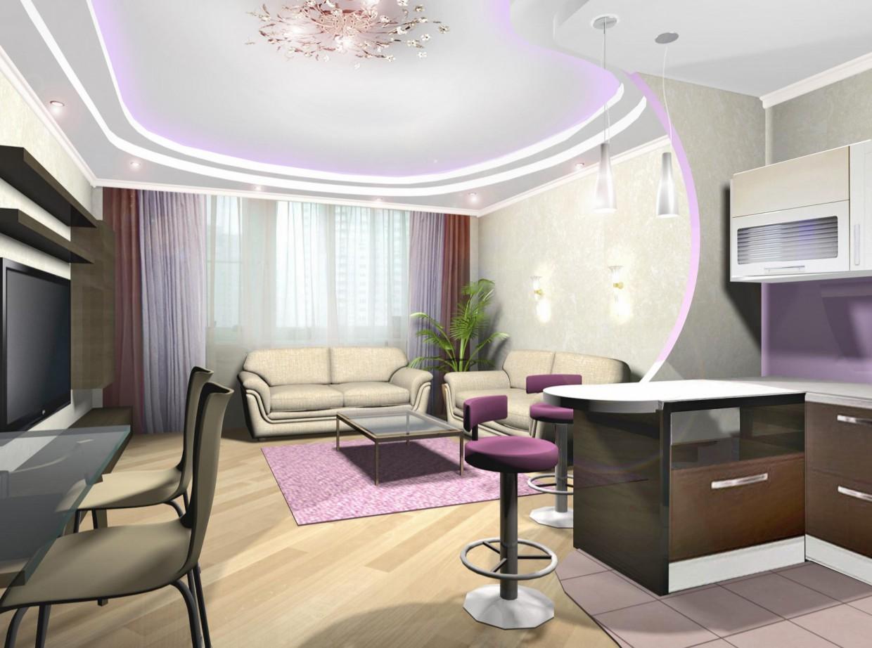 Apartamentos em 3d max vray imagem