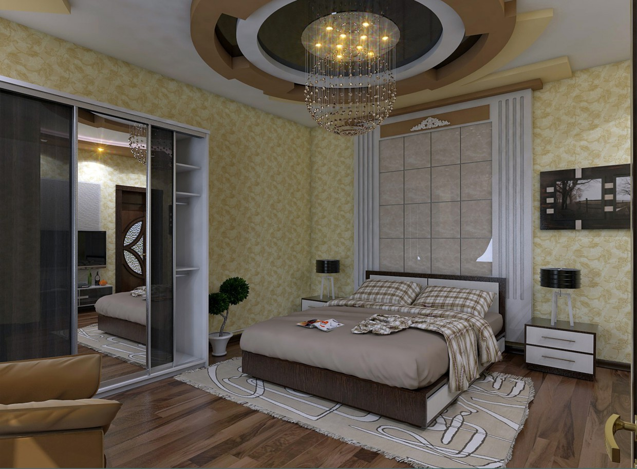 bedrooms in Other thing vray image