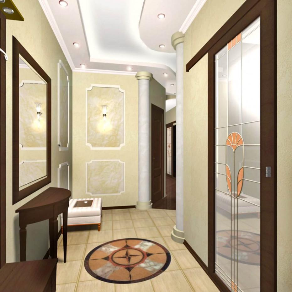 Квартира в 3d max vray изображение