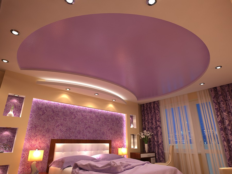 """Спальня """"Нежность"""" в Чернигове в 3d max vray изображение"""