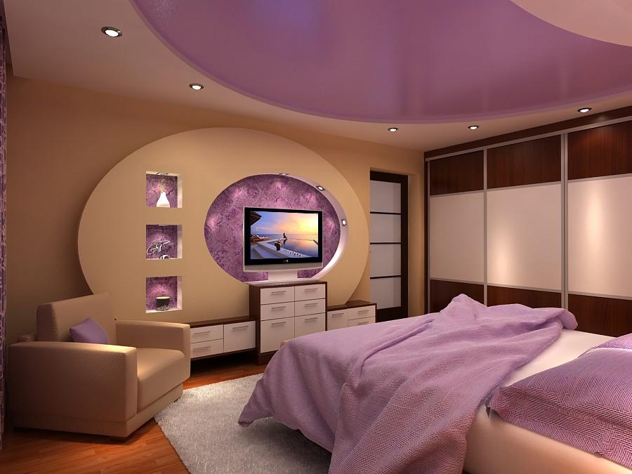 """Bedroom """"tenderness"""" in Chernihiv in 3d max vray image"""