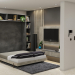 TV&BED in 3d max vray 5.0 image