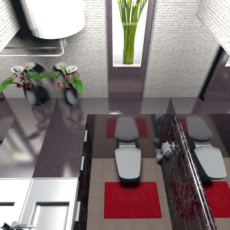 3d візуалізація проекту Туалет в Інше, рендер Other від Helena Che