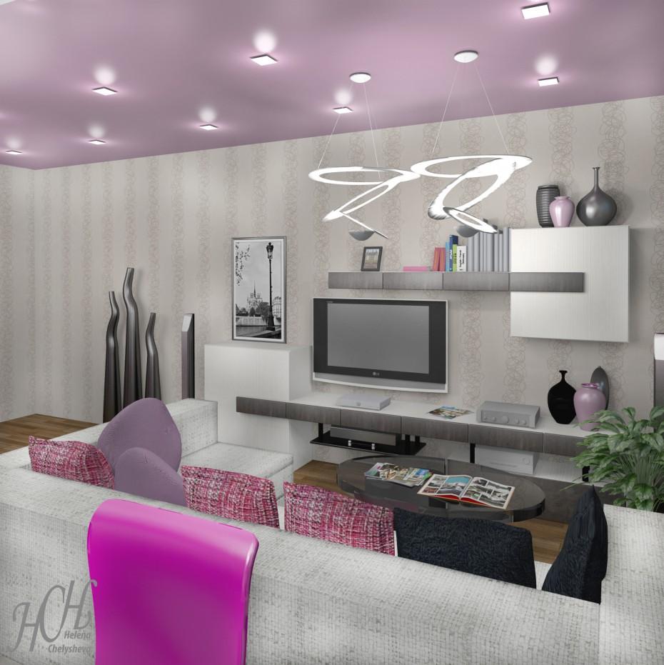 Kitchen living room design and visualization for Room design visualizer