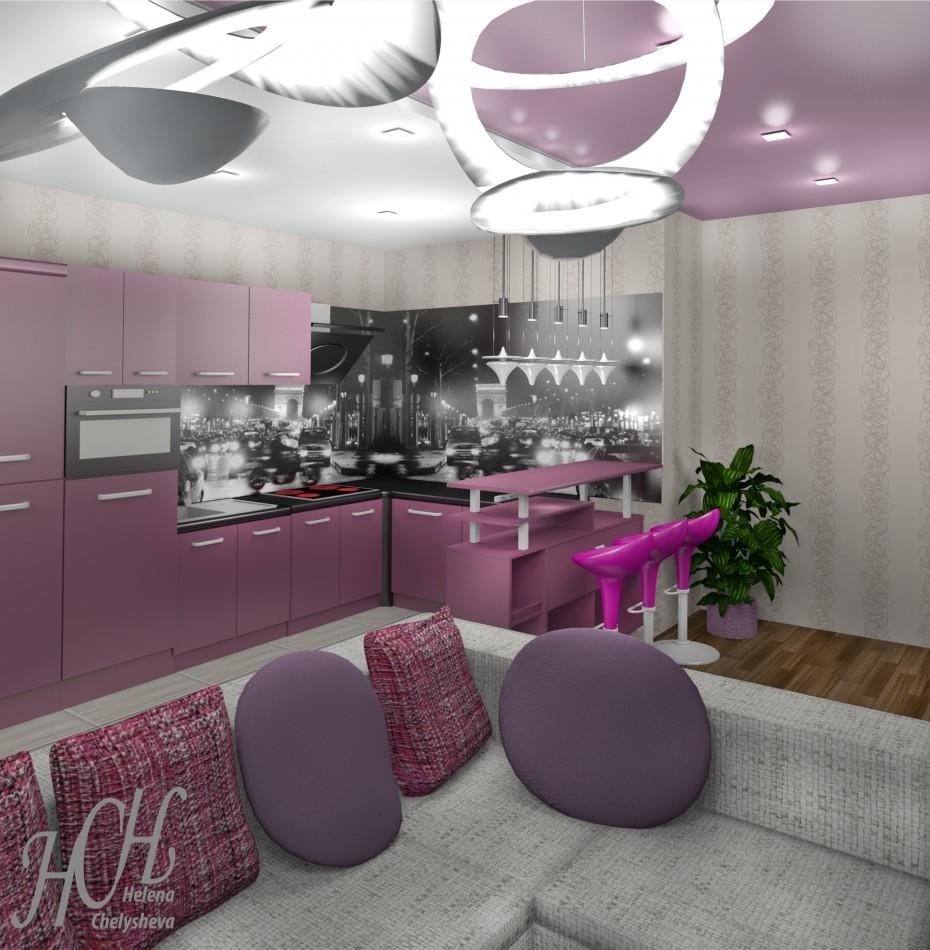 Кухня-гостиная в Другое Other изображение