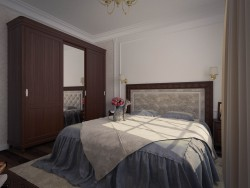 Bedroom for an elderly person