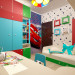 3d visualization of the project in the Children's for a little boy 3d max, render vray of julyrar
