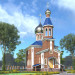 Chapel in Shirochanka in ArchiCAD corona render image