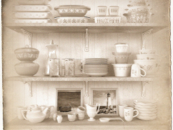 Set Vintage Gerichte Purex.