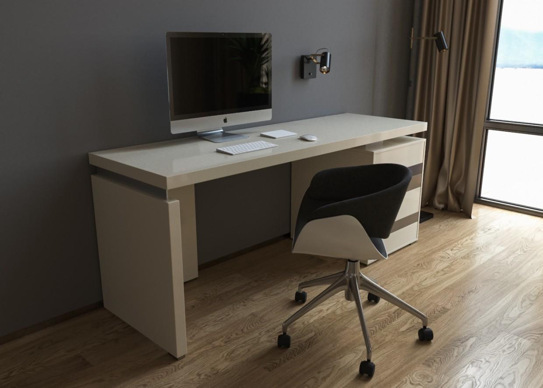 3d визуализация проекта Визуал рабочего и туалетного стола (часть) в 3d max, рендер corona render от Conceptvision