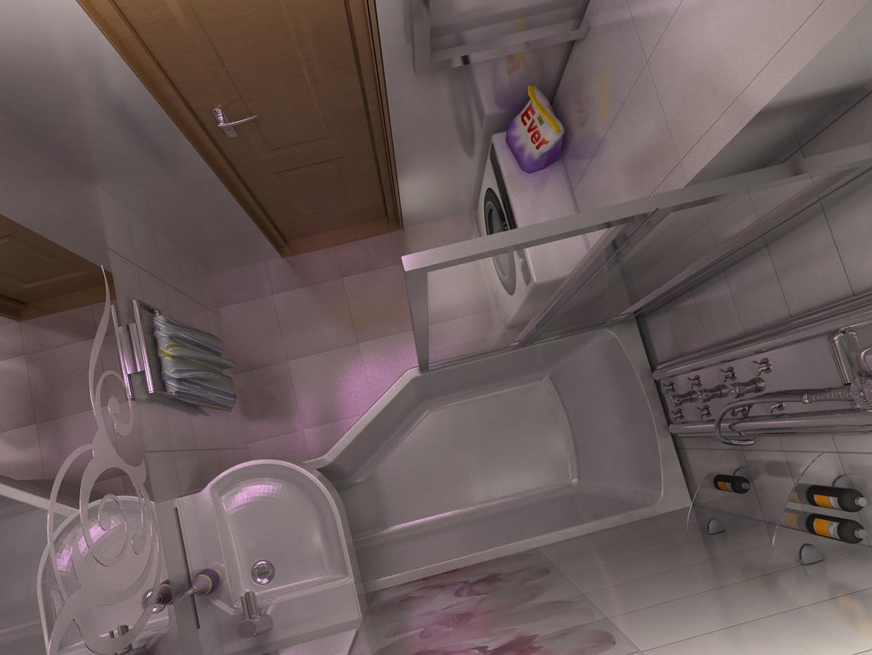 ванная в 3d max vray изображение