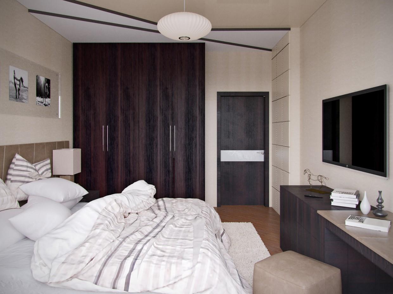 Bedroom Fusion в 3d max corona render изображение