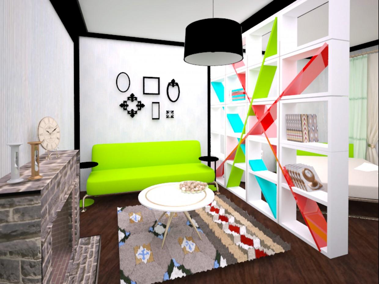imagen de Habitación 2 en uno en 3d max vray