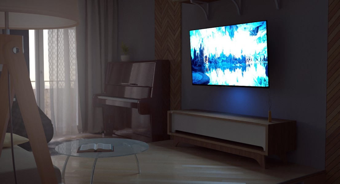 Apartment Chelyabinsk  in  3d max   corona render  image