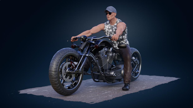 Chopper in Blender cycles render image