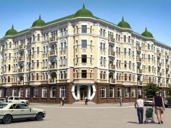 "Casa residencial ""a la Moderna"" en Chernigov"