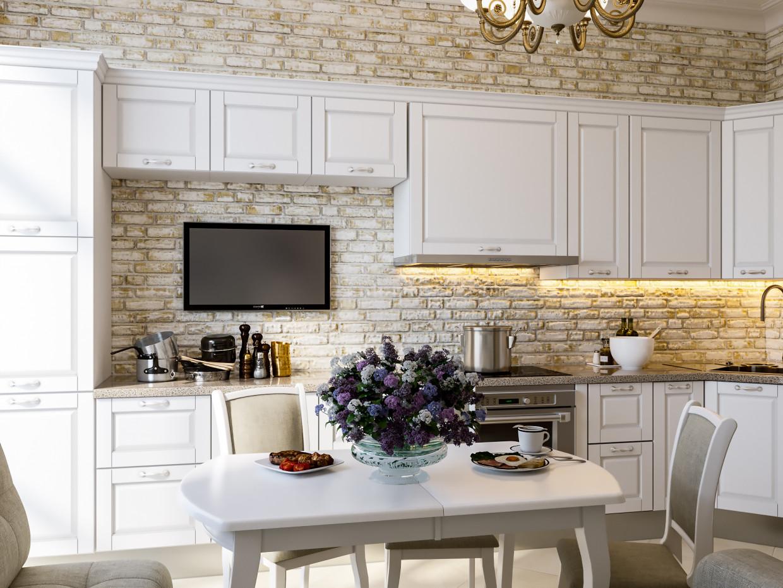 3D Visualisierung des Projektes in der Küche. 3d max , Rendern corona render von chilavek2007