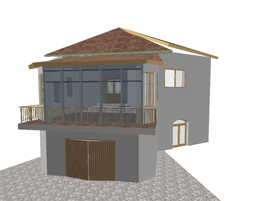 Roof over terrace project in Other thing Other image